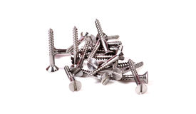 Metal screws Royalty Free Stock Photos