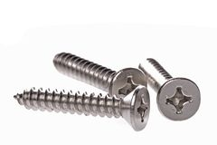 Metal Screws Macro Stock Photos