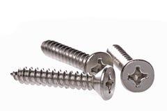 Metal Screws Macro Stock Photos