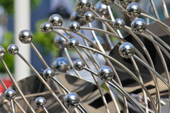 Metal sculpture Royalty Free Stock Photography