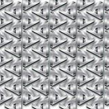 Metal seamless pattern Stock Images