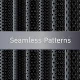 Metal Seamless Patterns Royalty Free Stock Image