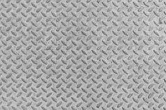 Metal seamless steel diamond plate texture pattern background Stock Photography