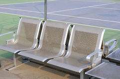 Metal seat Stock Photography