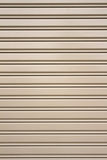 Metal security roller door background Stock Image