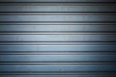Metal security roller door Stock Image
