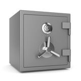 Metal security safe Stock Images