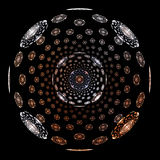 metal sfera Obrazy Royalty Free