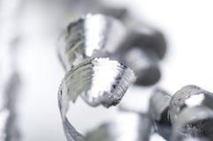 Metal shavings. Close-up of metal shavings Stock Photography