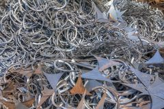 Metal Shavings Royalty Free Stock Photo