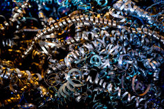 Metal shavings close up Stock Photography