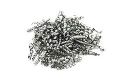 Metal shavings Royalty Free Stock Photo
