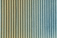 Metal Sheet Background. A background with a view of old metal sheets with wavy pattern Royalty Free Stock Image