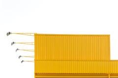 Metal sheet building Stock Photo