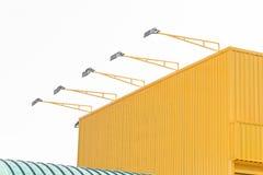 Metal sheet building Stock Photos