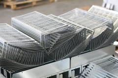 Metal sheet product Royalty Free Stock Photos