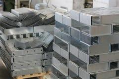 Metal sheet product Stock Image
