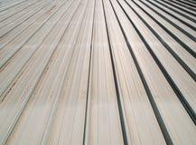 Metal sheet roof 2. Grey metal sheet roof background Royalty Free Stock Images