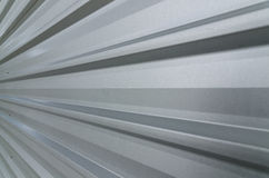 Metal sheet roof. Closed-up of metal sheet roof Stock Photo
