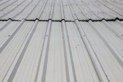 Metal sheet roof Stock Image