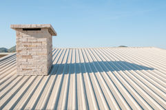 Metal sheet Roof Stock Photos