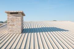 Metal sheet Roof Stock Photos