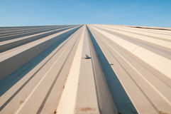 Metal sheet Roof Royalty Free Stock Photo