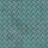 Metal sheet seamless pattern background - grunge diamond plate - teal blue green color. Metal sheet seamless pattern texture background - grunge diamond plate vector illustration