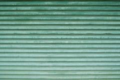 Metal sheet slide door texture background. Royalty Free Stock Image