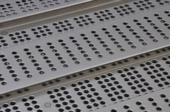 Metal sheet surface Stock Photo
