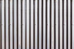 Metal Sheeting Closeup. Metal galvanized sheeting contruction material closeup texture background Royalty Free Stock Photography