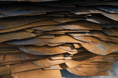 Metal sheets Stock Photography