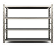 The metal shelf Royalty Free Stock Image
