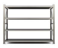 The metal shelf Royalty Free Stock Image