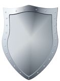 Metal shield. Royalty Free Stock Photos