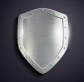 Metal shield Royalty Free Stock Image