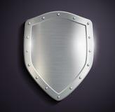 Metal shield Royalty Free Stock Image