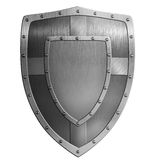 Metal shield illustration Royalty Free Stock Photography