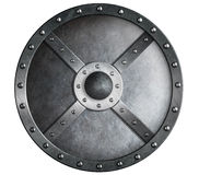 Metal shield isolated Royalty Free Stock Photo