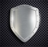 Metal shield Royalty Free Stock Photos