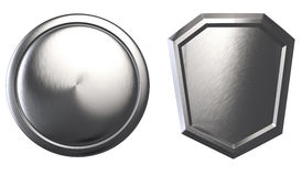 Metal Shields II Stock Photo