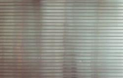 Metal shutter close up. Stock Image