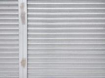 Metal shutter door pattern Stock Photo