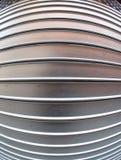 Metal shutter fish-eye lens Stock Images