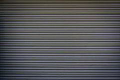 Metal shutter grey Stock Photo