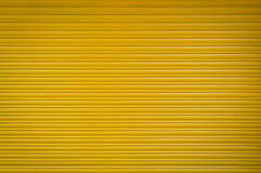Metal shutter yellow Stock Photography