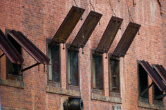 Metal Shutters Royalty Free Stock Photo