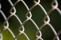 Metal siatki druciany ogrodzenie Obrazy Royalty Free