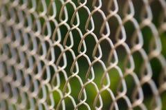 Metal siatki druciany ogrodzenie Obraz Royalty Free