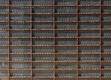 Metal siatki wzoru tekstura Zdjęcia Stock